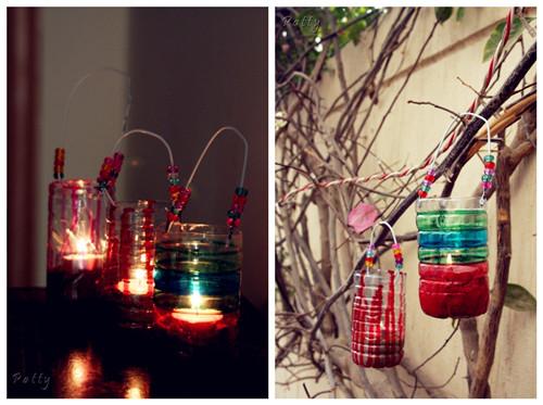 塑料瓶灯笼动物制作方法